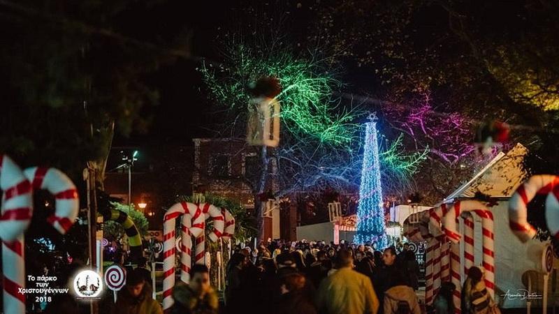 Άνοιξε τις πύλες του το Πάρκο των Χριστουγέννων στην Αλεξανδρούπολη