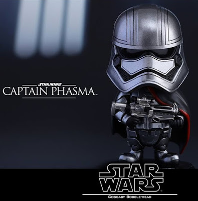 Star Wars: The Force Awakens Cosbaby Series 2 Vinyl Figure Bobble Heads by Hot Toys - Captain Phasma