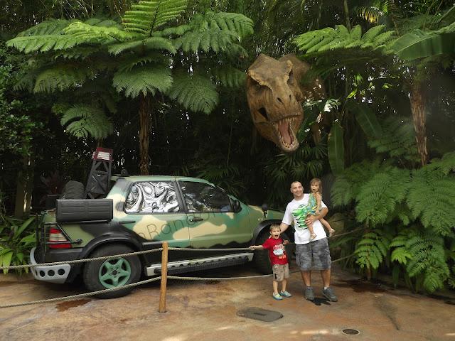 Entering Jurassic Park