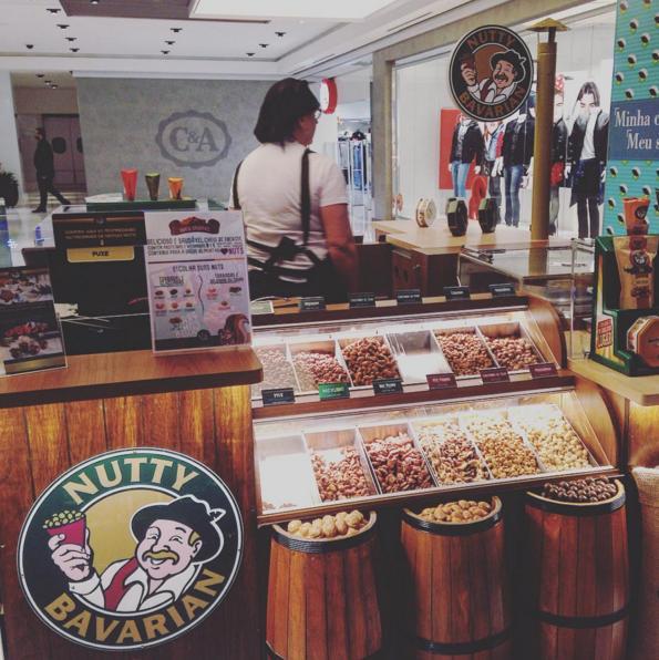 ddae99d9a0 Nutty Bavarian inaugura quiosque no Shopping Mueller - Jornal Magazine