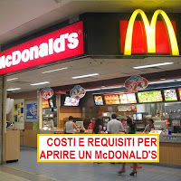 costi e requisiti per aprire un mcdonald's