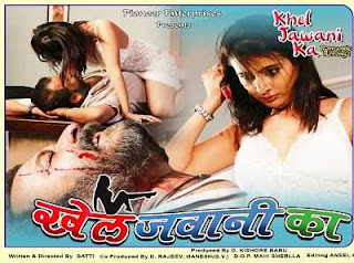 18+ Khel Jawani Ka (2015) Hindi Movie DVDRip 300MB