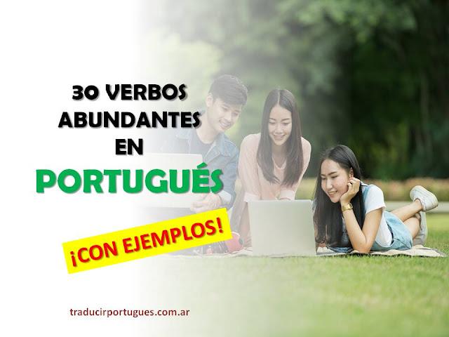 Verbos abundantes en portugués