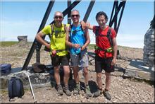 Gorbeia mendiaren gailurra 1.482 m. -- 2017ko ekainaren 11an