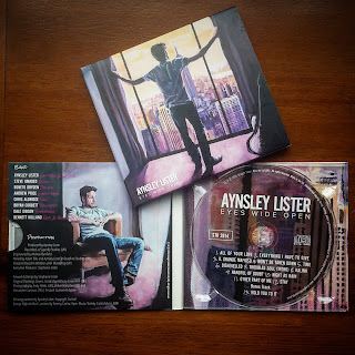 Aynsley Lister Eyes Wide Open album sleeve with finished artwork