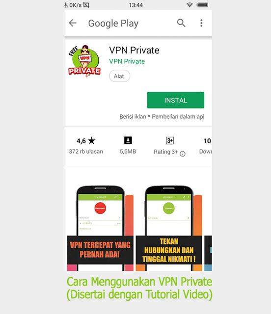 Cara Mudah Menggunakan VPN di PC/Laptop - VPN Private