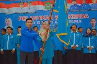 <b>Pelantikan Hj. Muthmainnah Dihadiri Langsung Ketua dan Sekjend DPP KNPI </b>