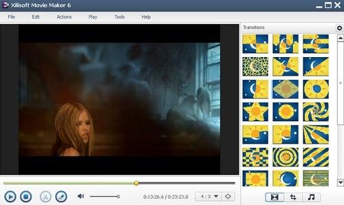 تحميل برنامج صنع الفيديو والافلام Xilisoft Movie Maker 6