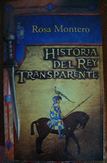 Portada del libro Historia del rey transparente, de Rosa Montero