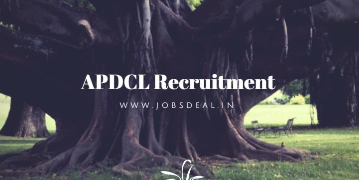 APDCL Recruitment