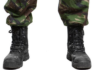 talla 7 venta caliente en línea comprar barato Verão Verde: Botas militares inglesas - 3ª parte