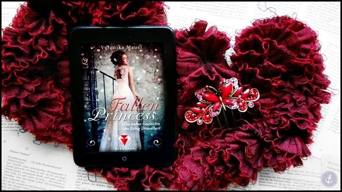 Rezension Fallen Princess Die wahre Geschichte des König Drosselbart Veronika Mauel BitterSweet DarkDiamonds Märchenadaption