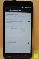 "Datum Uhrzeit: HOMTOM HT30 3G Smartphone 5.5""Android 6.0 MT6580 Quad Core 1.3GHz Mobile Phone 1GB RAM 8GB ROM Smart Gestures Wake Gestures Dual SIM OTA GPS WIFI,Weiß"