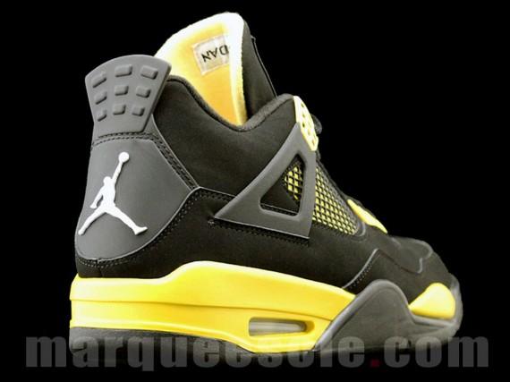Sneaker News: Air Jordan 4 'Thunder' 2012 Release Info