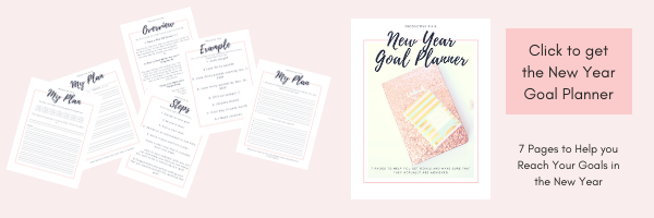 How to Plan for Your Goals in the New Year