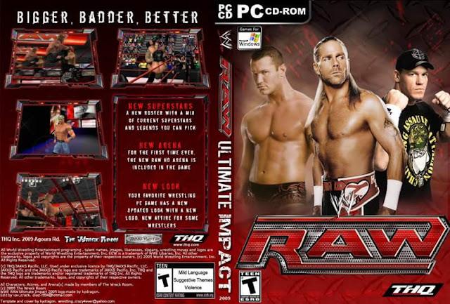 تنزيل لعبة المصارعة المشهورة WWe Impact 2011  فقط بحجم 488 ميجا وعلى رابط واحد من ميديافاير
