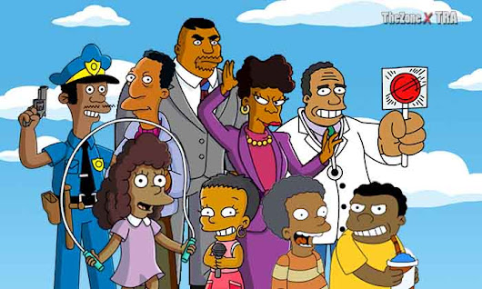 Black Simpsons Characters |TheZoneXtra