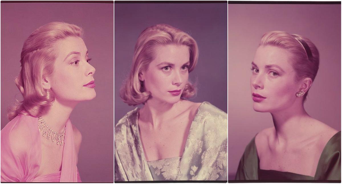 Glamorous Color Pics of Grace Kelly Taken by Bud Fraker in 1954