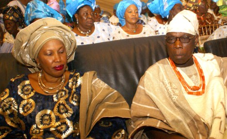 obasanjo wife sues son cancel wedding
