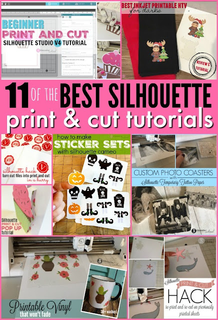 silhouette print and cut, print and cut silhouette, silhouette cameo print and cut, silhouette america blog, silhouette 101