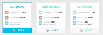 Eco Classic, Eco Basic, Eco Smart Service Corsair  pour profiter des Crazy Soldes Corsair.
