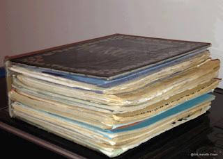 Personlig dagbok fra oppveksten, av Gro Jeanette Nilsen.