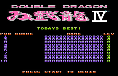 【FC】雙截龍1~4系列全集+所有Hack修改版+加強版+金手指!(DOUBLE DRAGON)