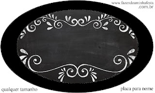Blackboard Style, Toppers or Free Printable Candy Bar Labels.