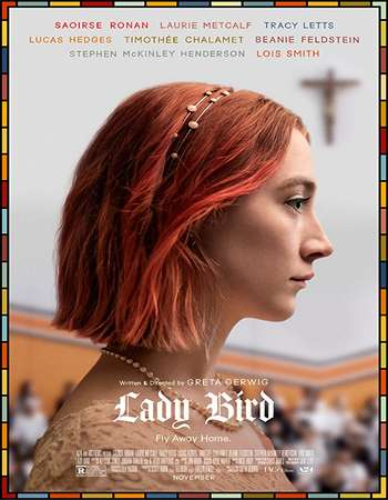 Poster of Lady Bird 2017 English 280MB Web-DL 480p ESubs
