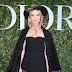 Eva Herzigova posa para fotos no lançamento da exibição 'Christian Dior, couturier du rêve' comemorando 70 anos de criação, em Paris, França – 03/07/2017