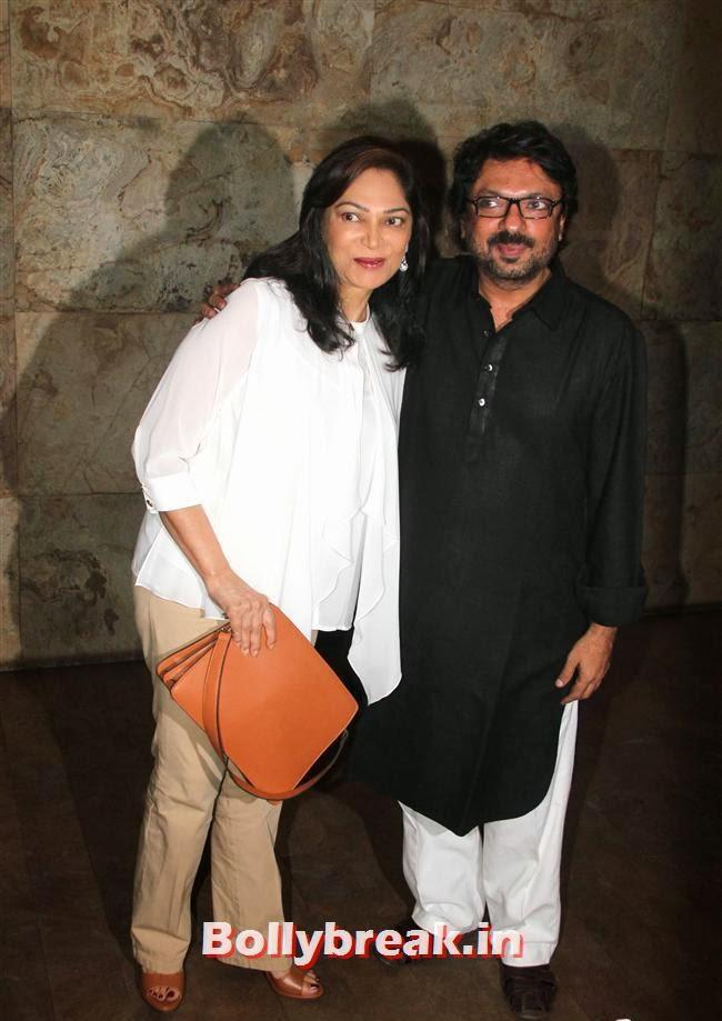 Simi Grewal and Sanjay Leela Bhansali, Ram Leela Premiere Photos