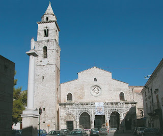 he cathedral at Andria, where Farinelli's father was the maestro di cappella