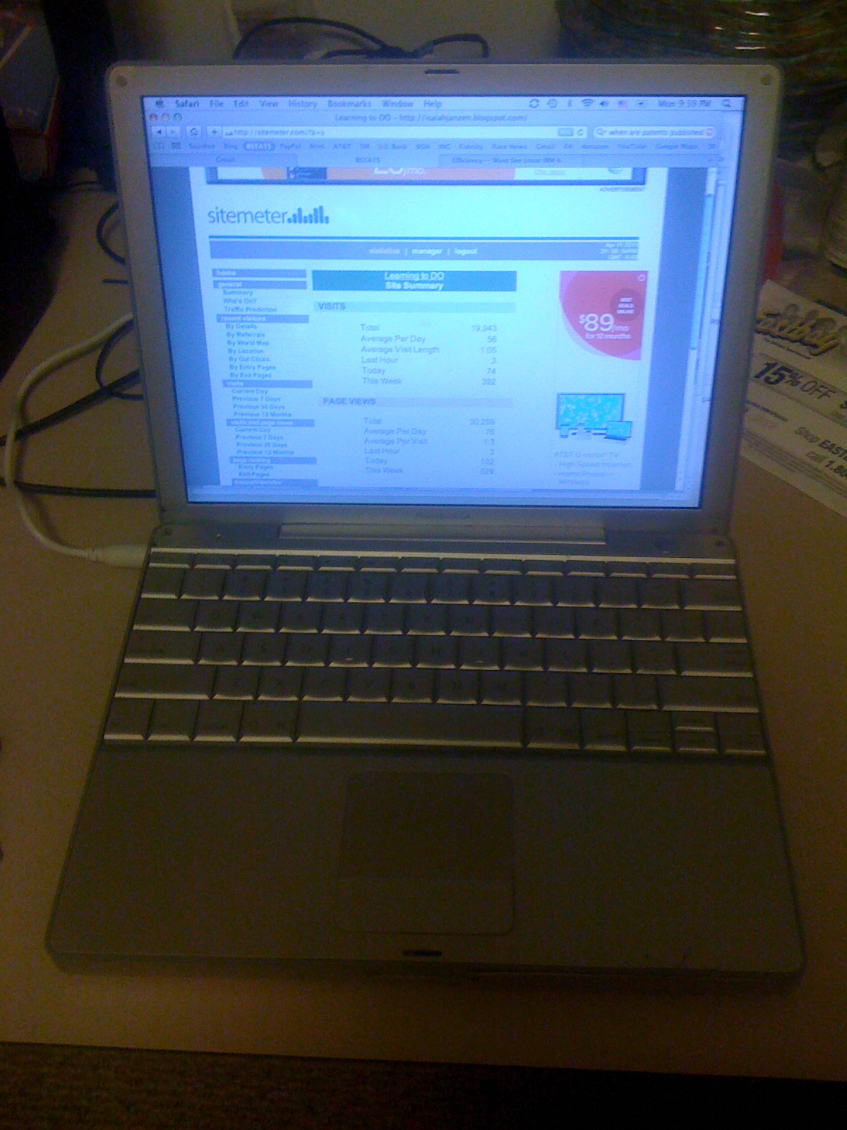 Learning to DO: My 7 Year Old PowerBook G4 Computer