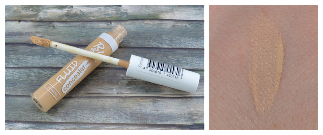 R de L Young fluid concealer 02 honey und Swatch