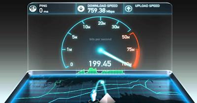 Kecepatan Internet tercepat di dunia