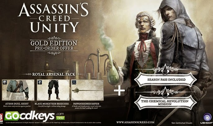 Download Assassins Creed Unity Gold Edition Full Cracked Skidrow.