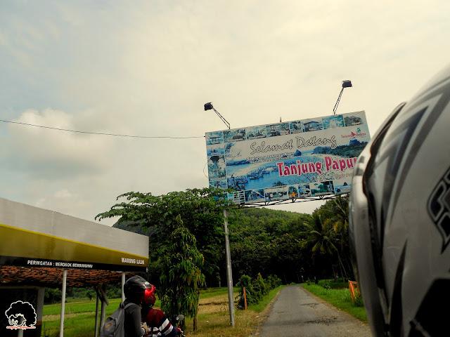 Pintu masuk Tanjung Papuma