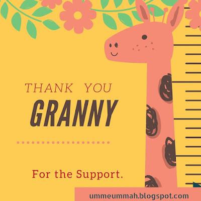 Granny,My best friend.