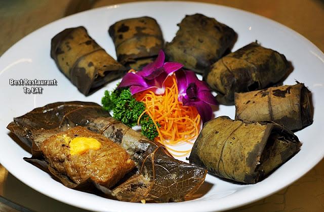 CHINESE NEW YEAR SET MENU 2020 - Fried Glutinous Rice With BBQ Chicken And Mushroom