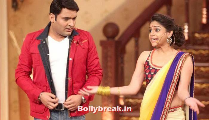 Kapil Sharma, Sumona Chakravarti, Sumona Chakravarti Comedy Nights with Kapil Pics