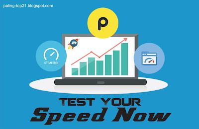 Test Kecepatan Blog
