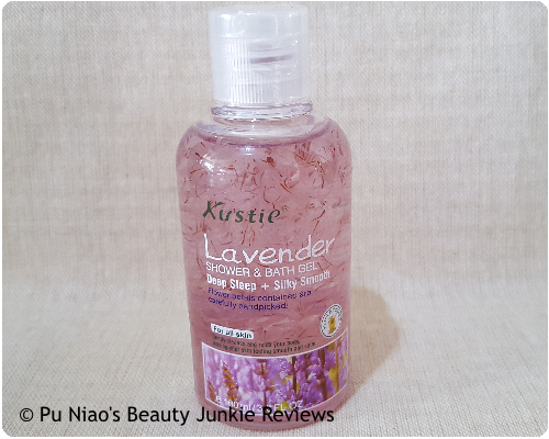 Kustie Lavender Shower & Bath Gel