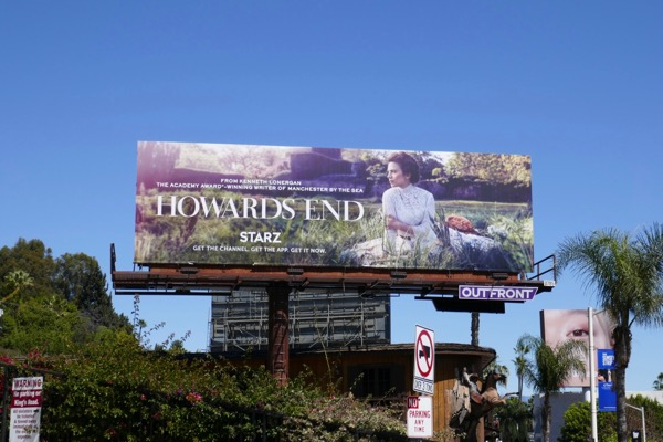 Howards End TV remake billboard