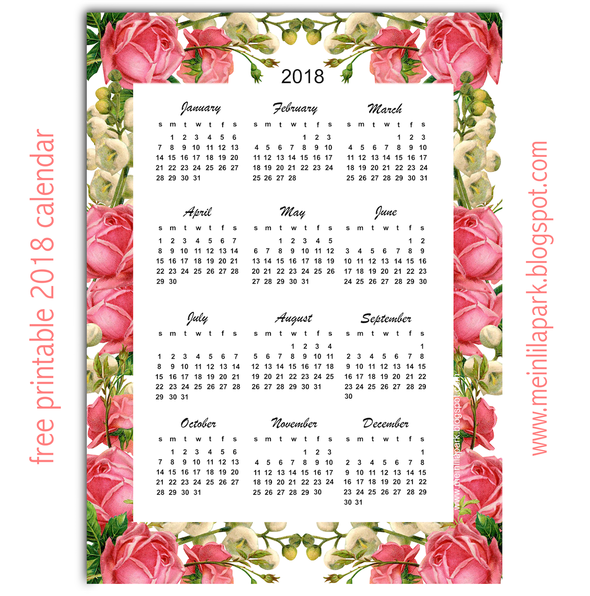 2017 2018 calendar free printable two year pdf calendars