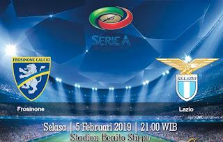 Prediksi Frosinone Vs Lazio 5 Febuari 2019