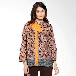 Baju Batik Kantor Modern Elegan