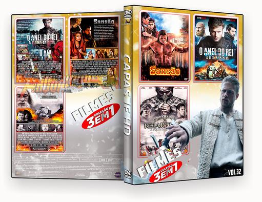 CAPA DVD – COLEÇÃO FILMES 3X1 VOL 32 – ISO