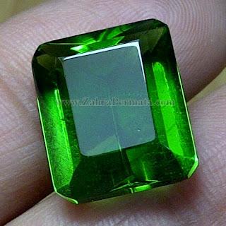 Batu Green Tektite + Memo - ZP 848