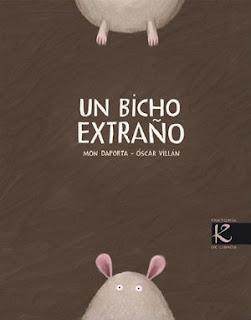 mejores cuentos para niños de 2 a 3 años de edad, un bicho extraño kalandraka