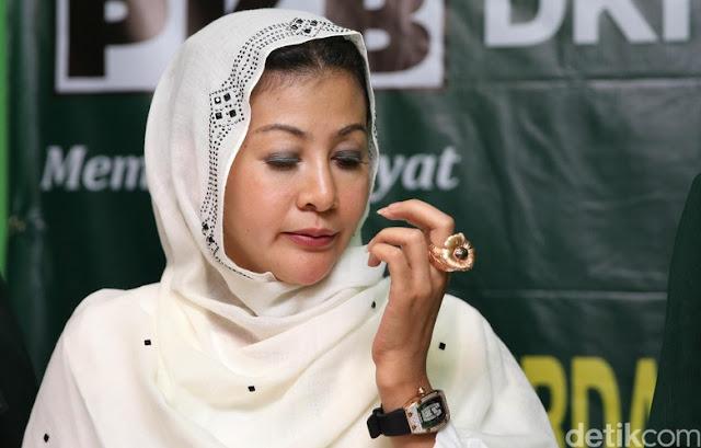 Diselidiki Polisi Atas Dugaan Penipuan, ini Tanggapan Hasnaeni 'Wanita Emas'